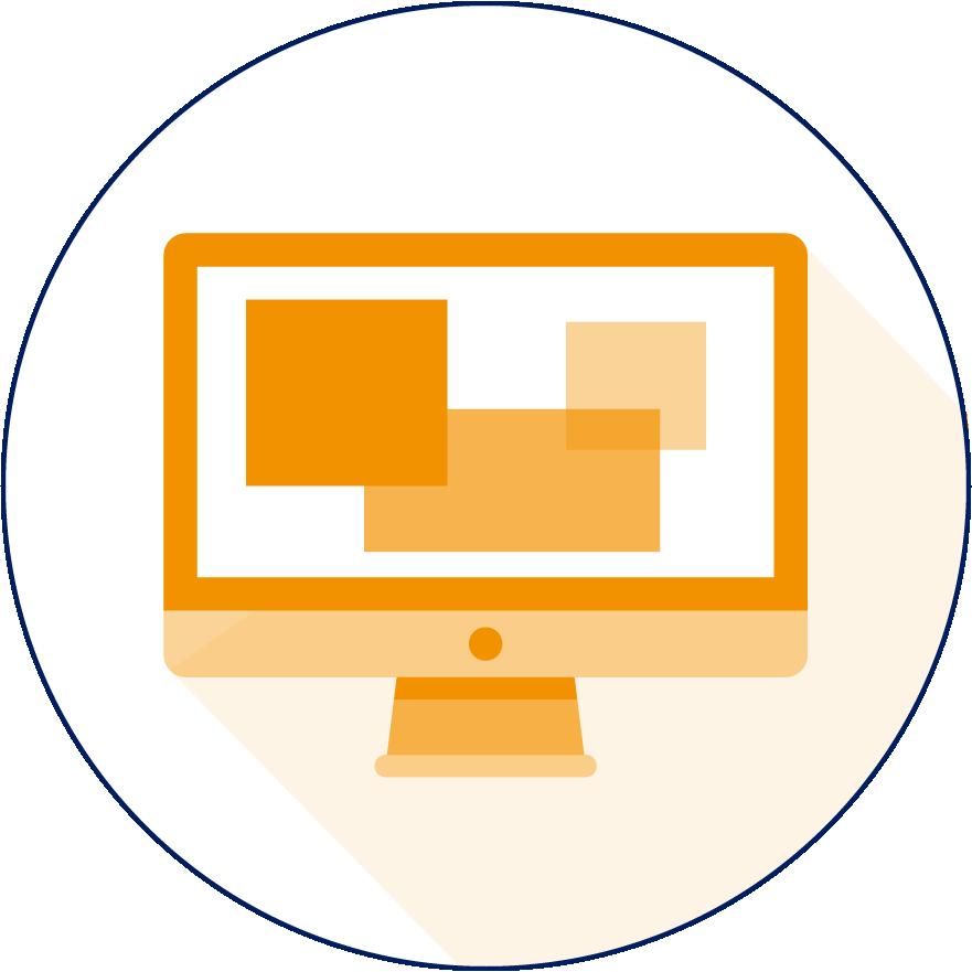 Grafisch ontwerp icoon