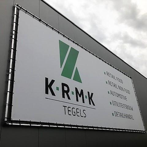 Signing KRMK Tegels